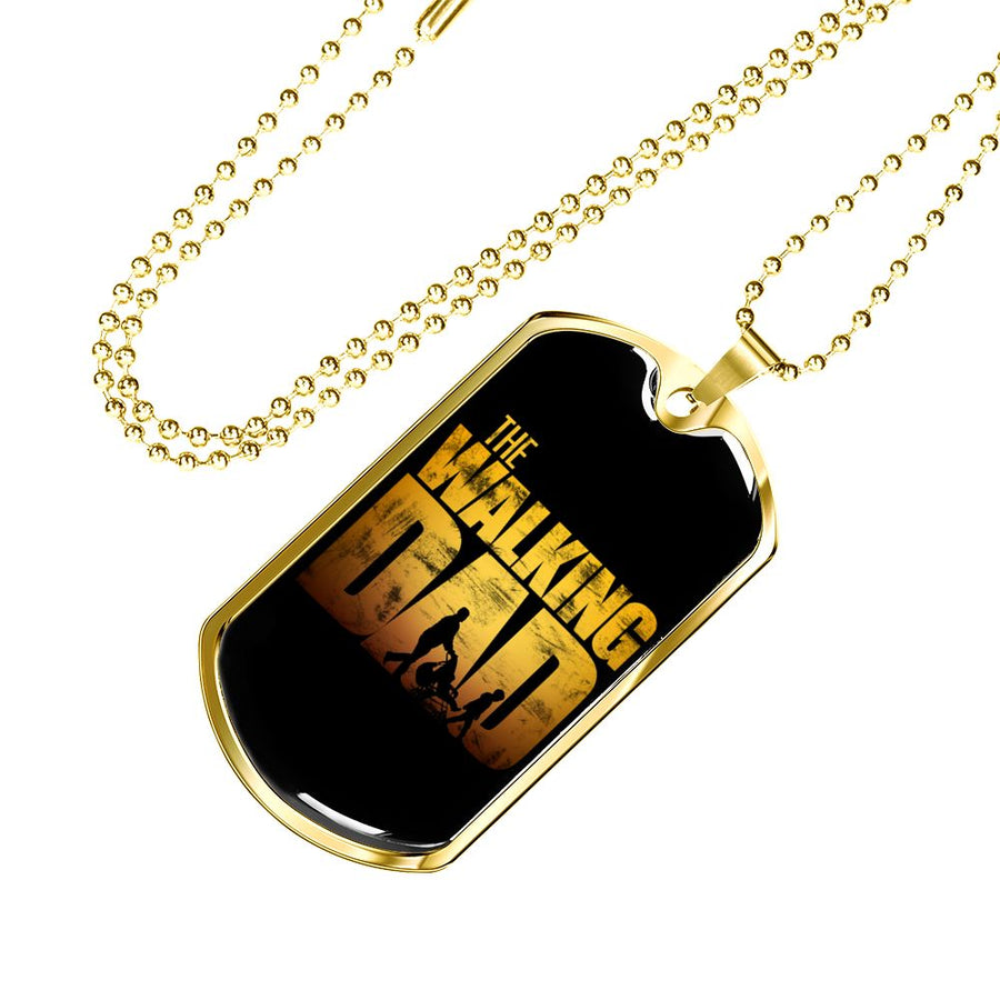 The Waling Dad - Luxury Military Dog Tag
