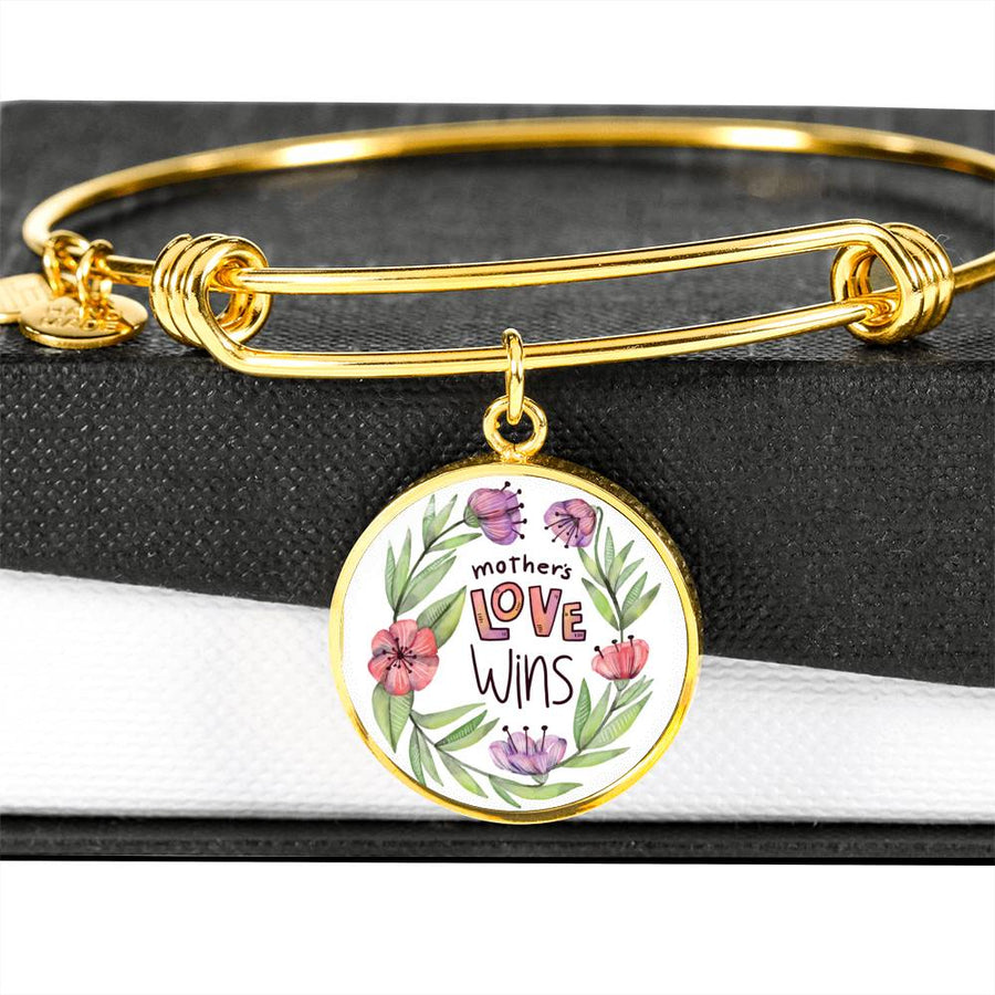 A Mother's Love Wins_ - Circle Bangle