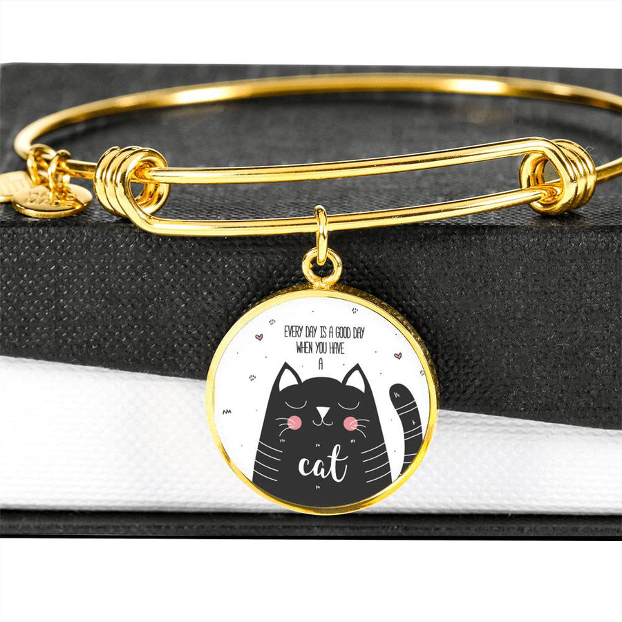 Every Day is a Good Day - Circle Bangle
