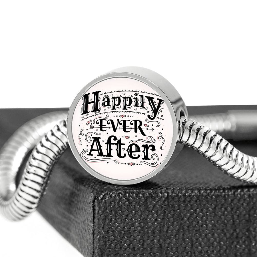 Happily ever After - Steel Bracelet