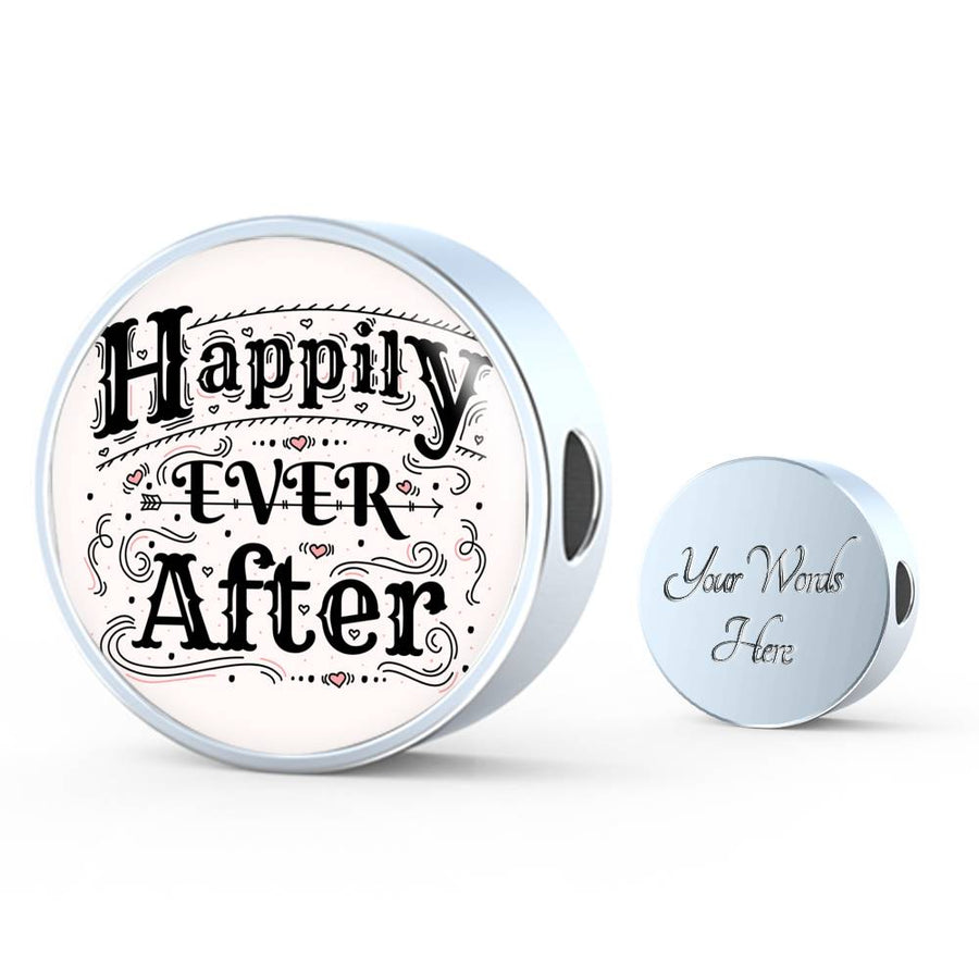 Happily ever After - Leather Bracelet