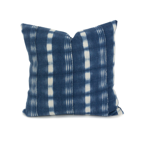 "Aia: 16"" African Throw Pillow - Heddle & Lamm"