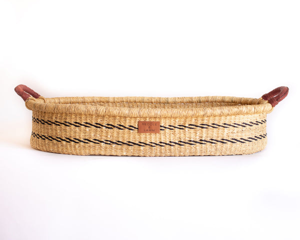 Amma Changing Basket - Stripe