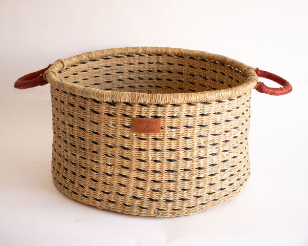 Ufa Hamper Basket with Handles - Dash
