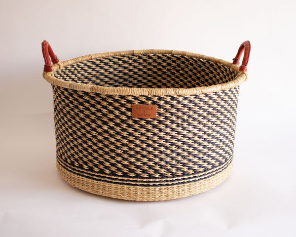 Billa Short Hamper Basket with Handles