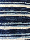 "Abeo - 18"": Striped African Throw Pillow - Heddle & Lamm"