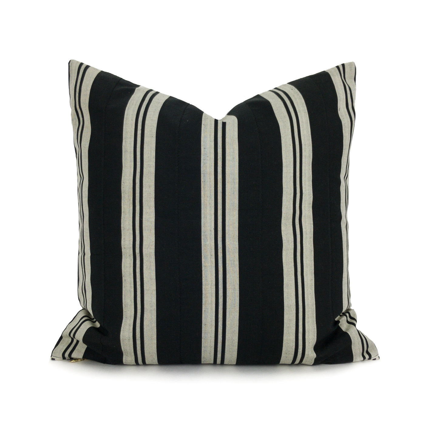 H&L Stripe Collection - Black & Ivory - Heddle & Lamm