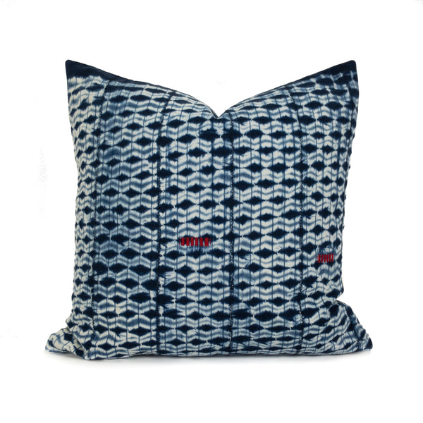 "Ahou: 20"" African Throw Pillow featured by top US sustainable home decor online store, Heddle & Lamm"