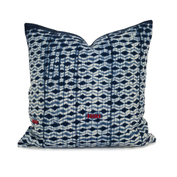 "Ahou: 18"" African Throw Pillow featured by top US sustainable home decor online store, Heddle & Lamm"