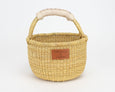 Kandiga Mini Bolga Basket - Natural Handle