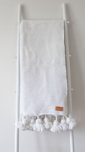 Lunja Throw - White