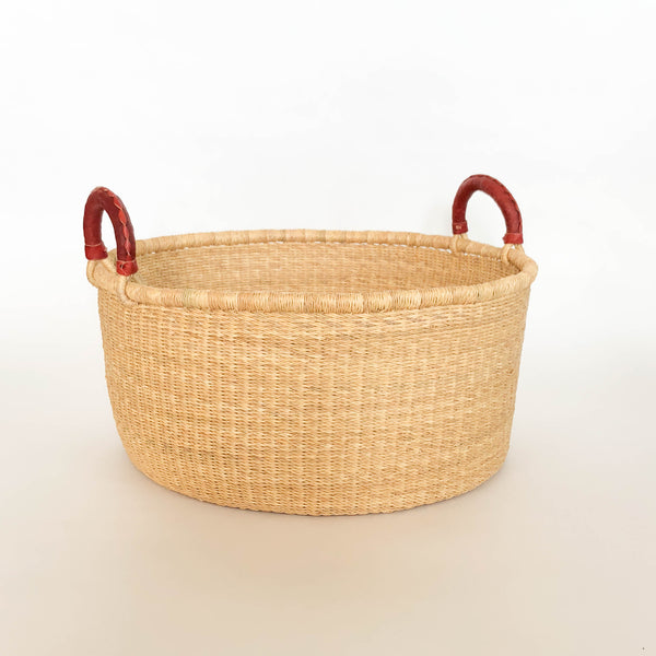 Kwasi Basket with Handles - Heddle & Lamm
