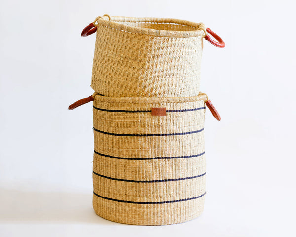 Babi Tall Hamper - Stripe - Heddle & Lamm