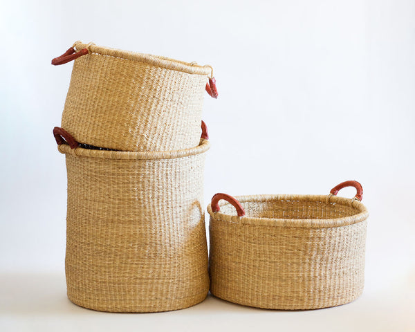 Kwasi Tall Hamper - Heddle & Lamm