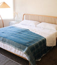 Benita Throw - Blue - Heddle & Lamm