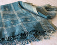 Benita Bed Cover - Blue - Heddle & Lamm