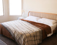 Benita Bed Cover - Ivory - Heddle & Lamm
