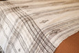 Chavvi Bed Cover - Ivory & Brown - Heddle & Lamm
