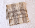 Chavvi Throw- Ivory & Brown - Heddle & Lamm