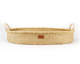 Jojo - Baby Changing Basket -  Natural Handle - Heddle & Lamm