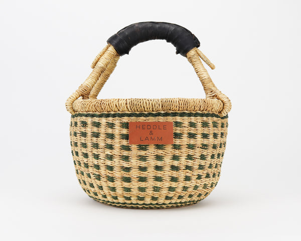 Jaha Mini Bolga Basket - Heddle & Lamm