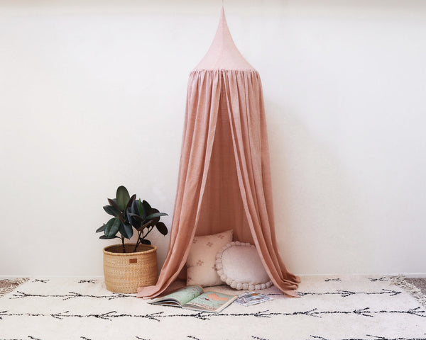 Kids Bed Canopy - Blush