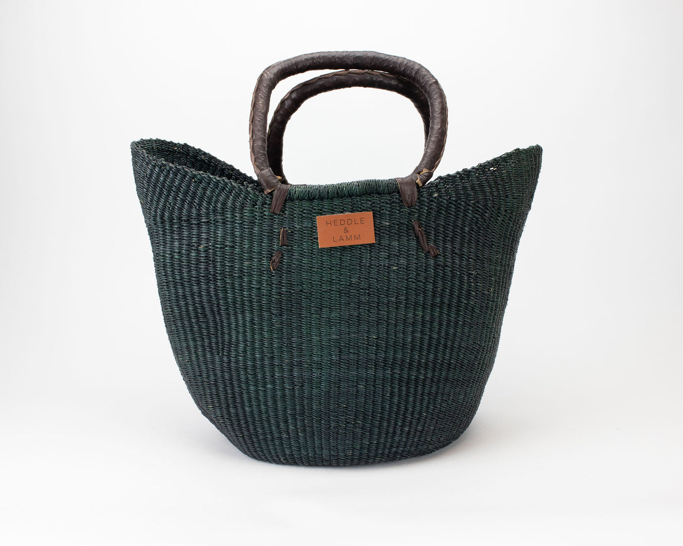 Ongo - Green Shopper Basket - Heddle & Lamm