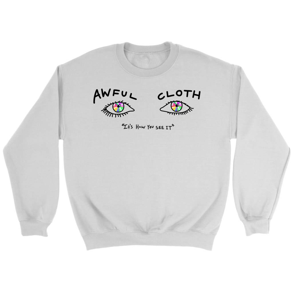Awful Eyes Crewneck