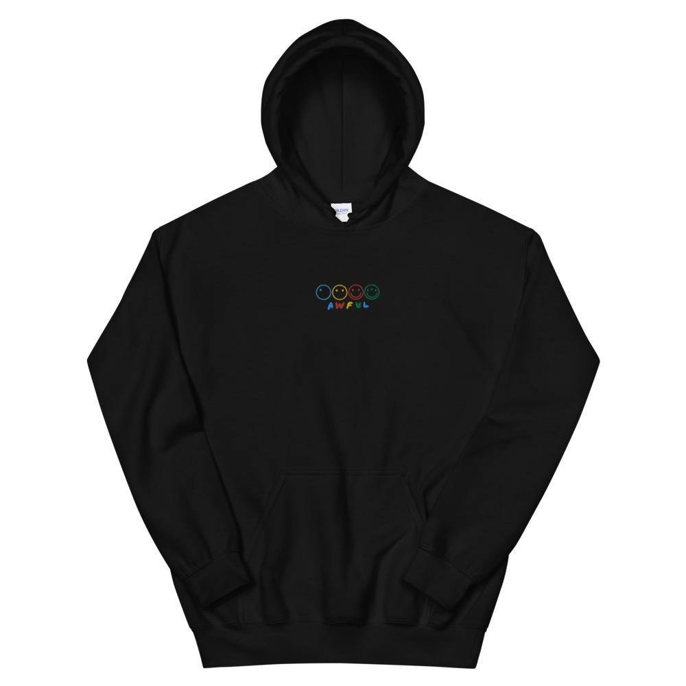 Awfulution Hoodie (Embroidered) Black