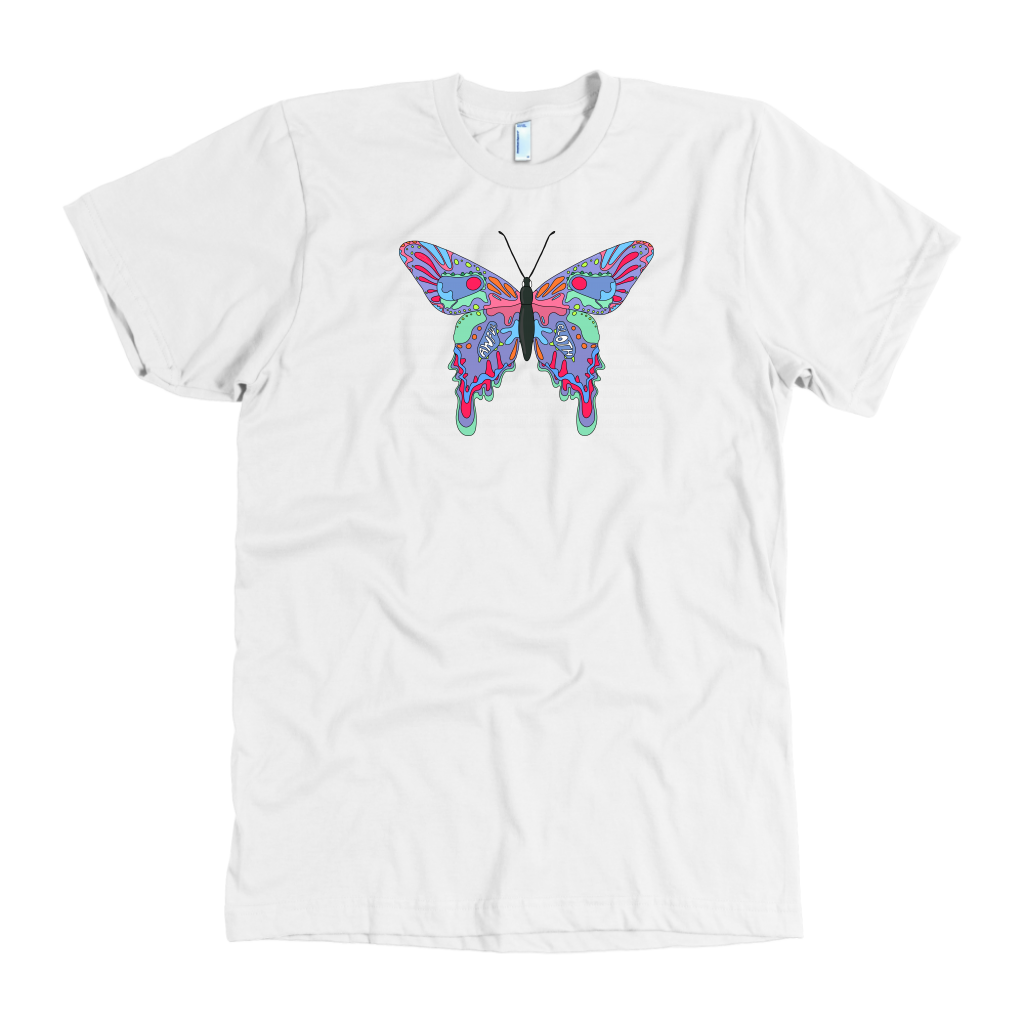 Periwinkle Butterfly T-Shirt