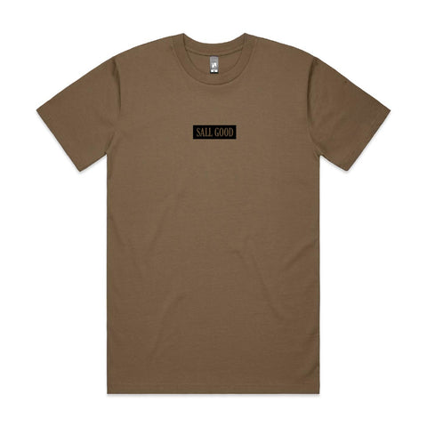 SALL GOOD TEE - COFFEE