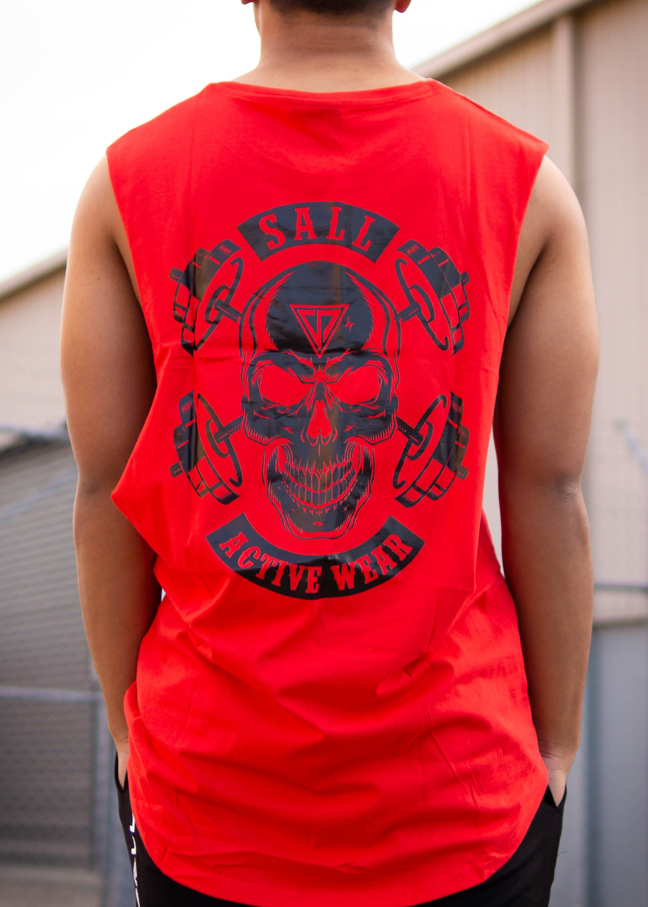 POSSESSED STREET TANK - RED