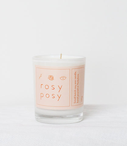 Rosy Posy Candle