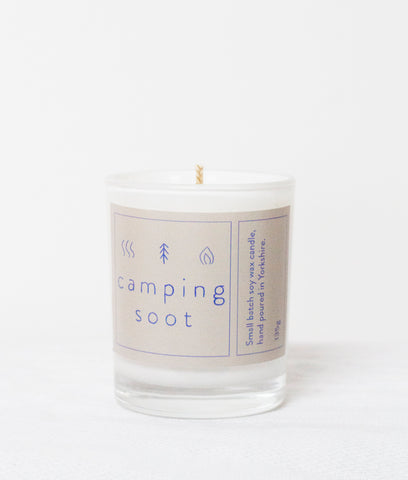 Camping Soot Candle