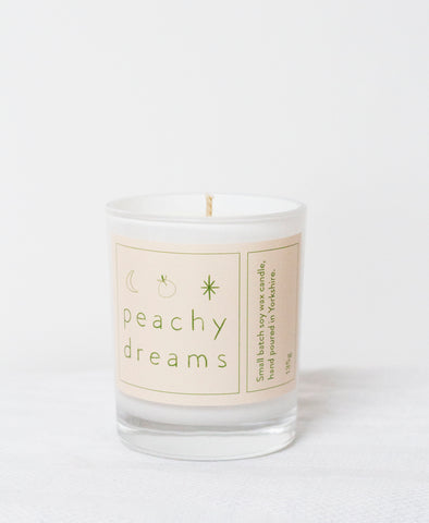 Peachy Dreams Candle