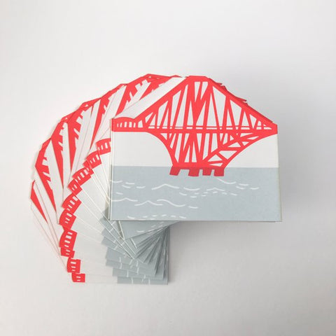 Fold Out Rail Bridge Card