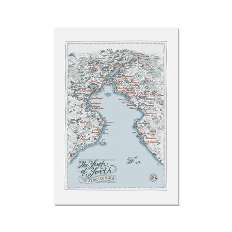 Firth of Forth Map