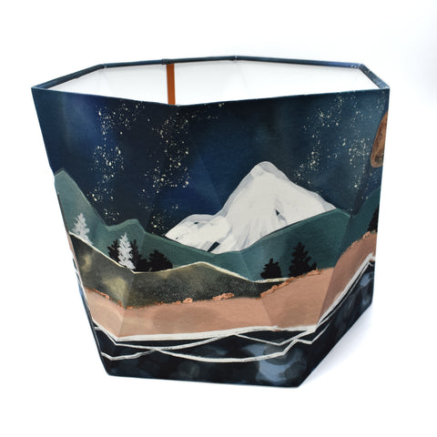 MOUNTAIN Hexagonal Lampshade