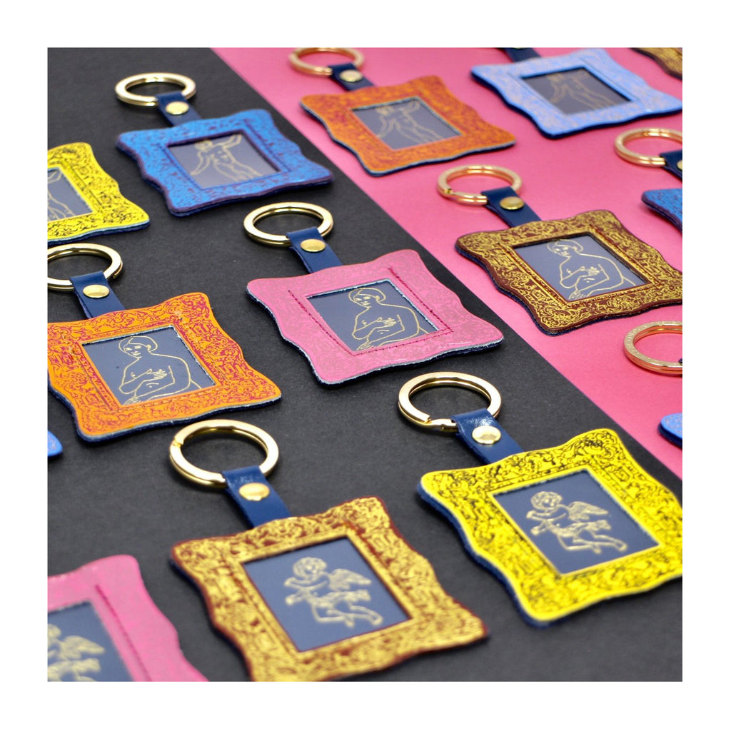 The picture frame keyrings from ARK Colour Collective