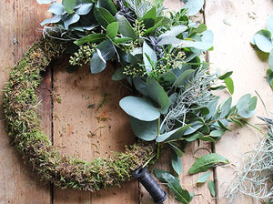 Christmas Floral Wreaths with Birch & Bloom