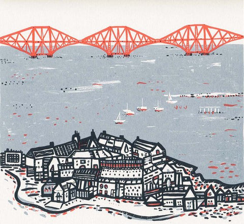 Rail Bridge Screen Print