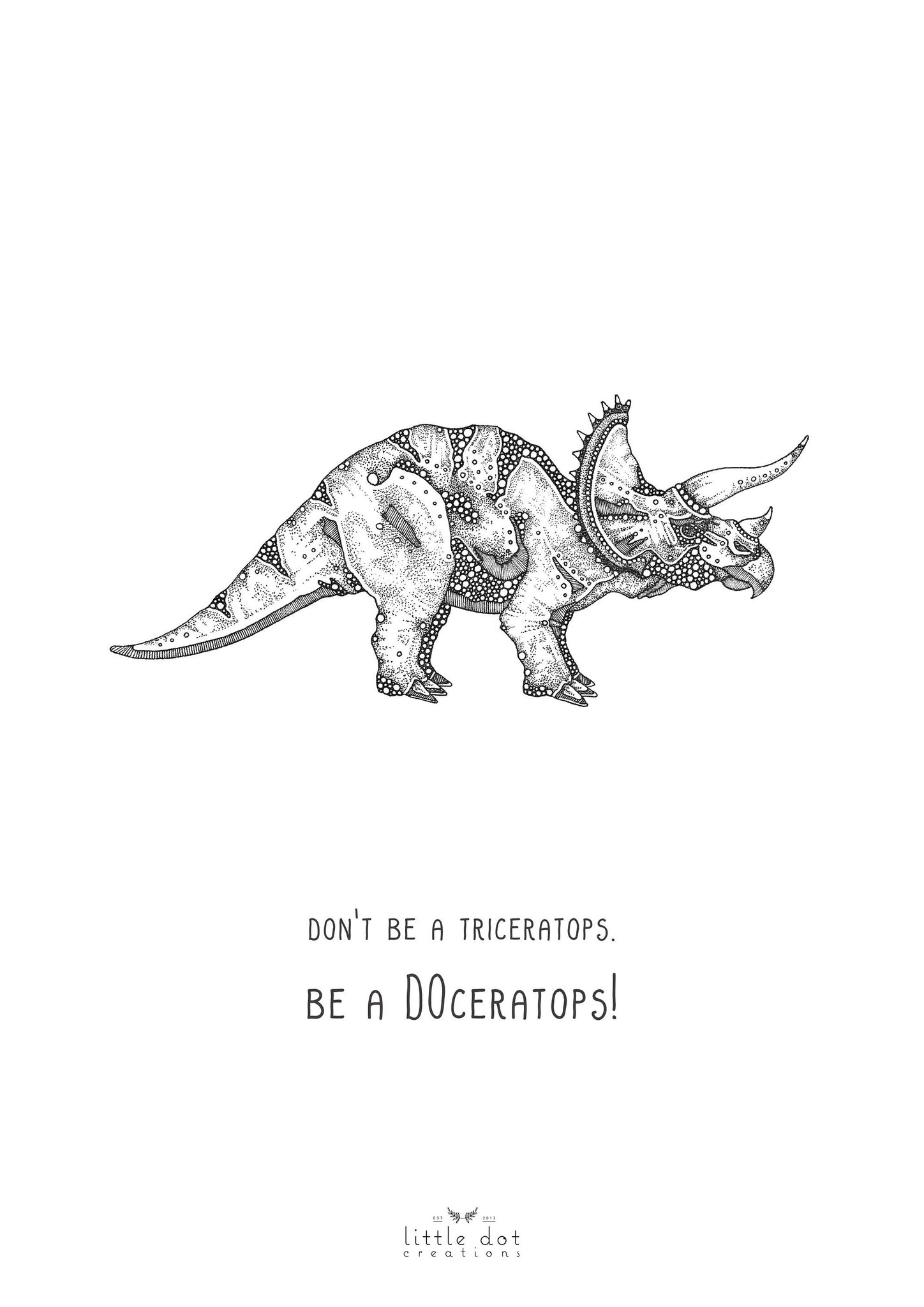 Be A Doceratops