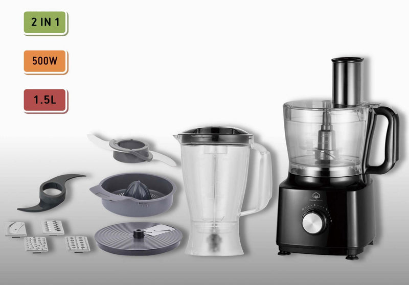 Home Electric - Food Processor 500W