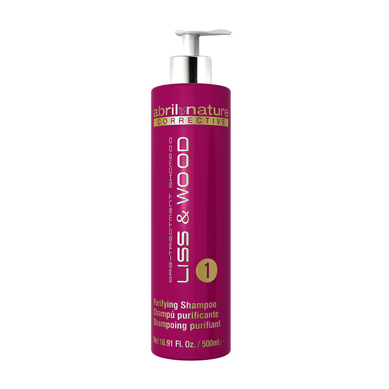 Abril Et Nature - Liss & Wood Purifying Shampoo (500Ml) (β)