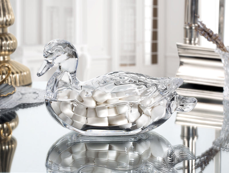 Madame Coco - Canard Glass Candy Bowl (β)