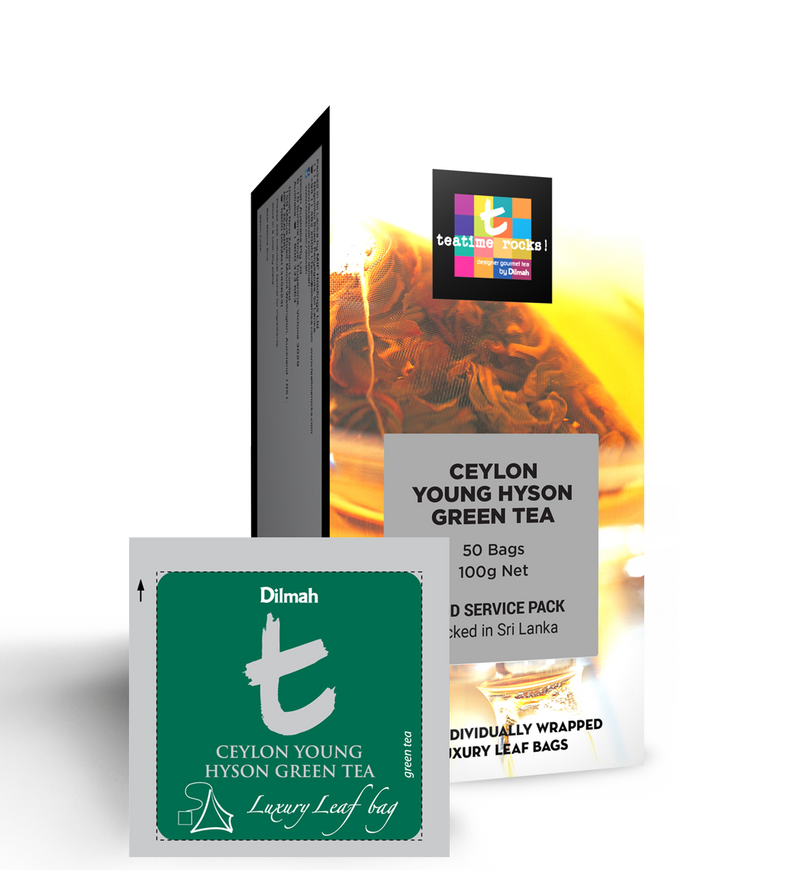 Dilmah - T Sachet Young Hyson Green Tea (β)