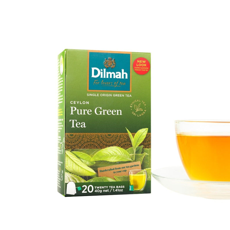 Dilmah - Tag Ceylon Green Tea (β)