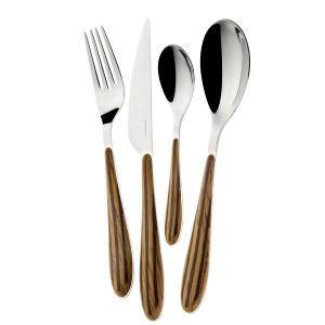 Bugatti - Zebra Cutlery Set Of 24 Pieces Maple (β)