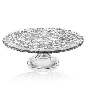 IVV - Arabesque Footed Cake Stand 26cm Silver (β)