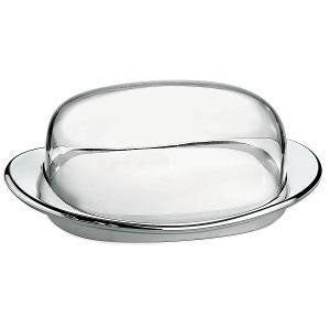 Guzzini - Feeling Better Dish with Cover Chrome (β)